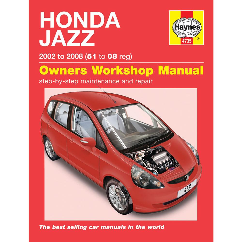 Honda Jazz Haynes Manual 2002-08 1.2 1.4 Petrol Hatch Workshop Manual