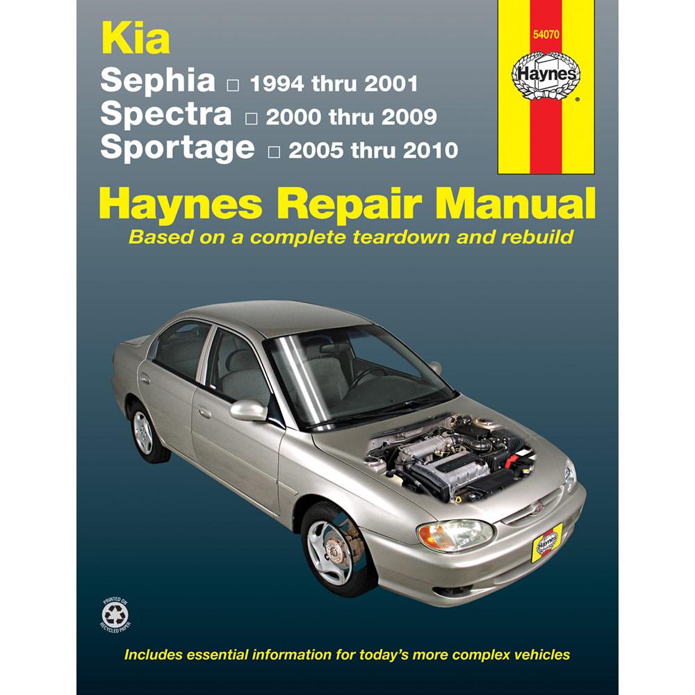 Kia Sportage 2005-2010 Haynes USA Workshop Manual