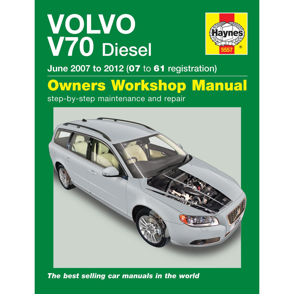 Volvo V70 Haynes Manual 2007-12 Workshop Manual