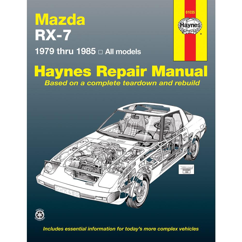 85 Mazda Rx7 Wiring Diagram Archive Of Automotive Series 8 Rx 7 1979 1985 Haynes Usa Workshop Manual 38345004605 Ebay Rh Co Uk