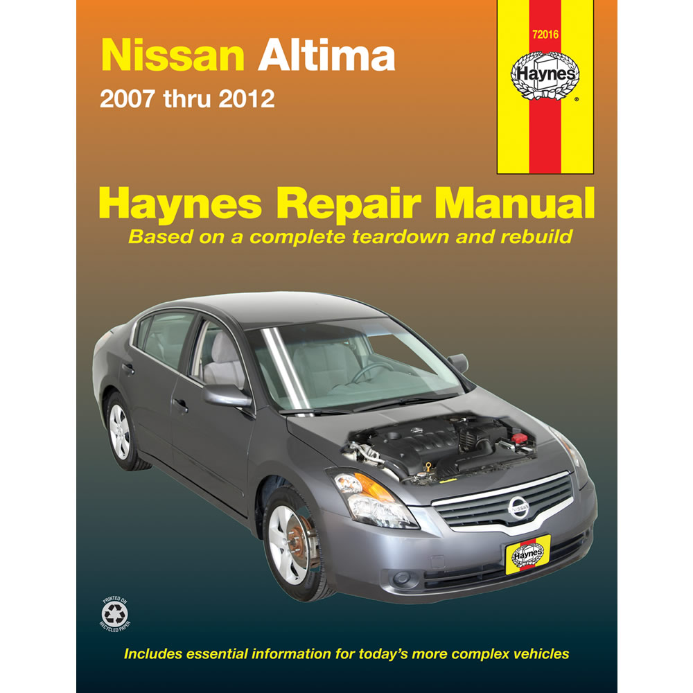 Nissan Altima: Owner's ManualService Manual order information
