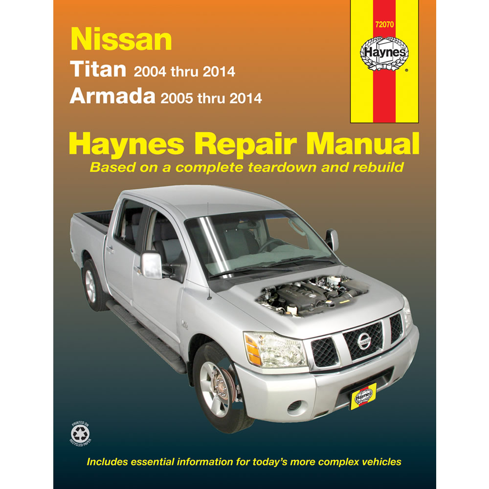 nissan armada 2005 2014 haynes usa workshop manual ebay rh ebay co uk 2006 Nissan Armada 2000 Nissan Armada