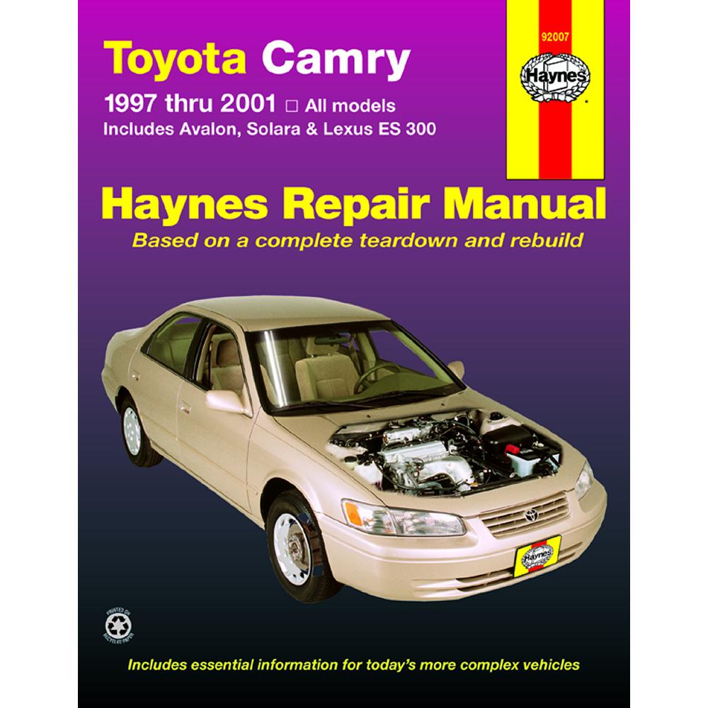 Toyota Camry 1997-2001 Haynes USA Workshop Manual