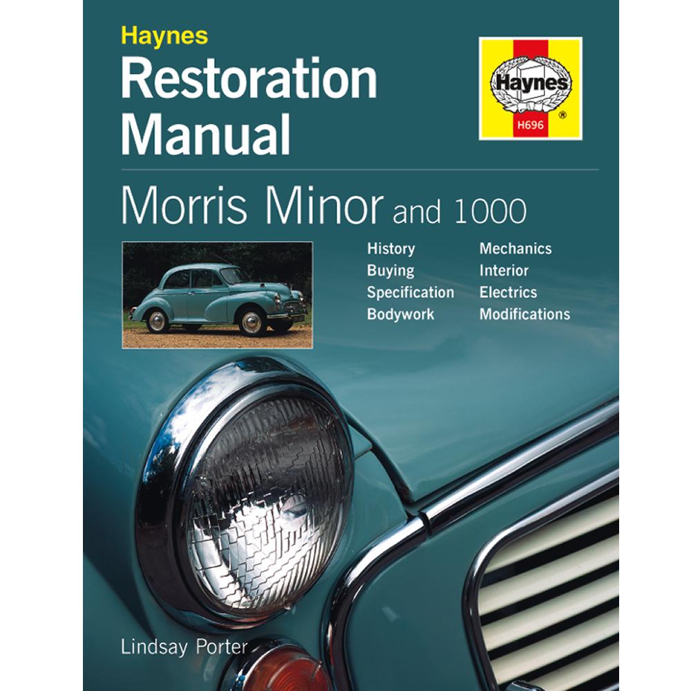 Morris Minor Restoration Manual - 2nd Edition - by Haynes