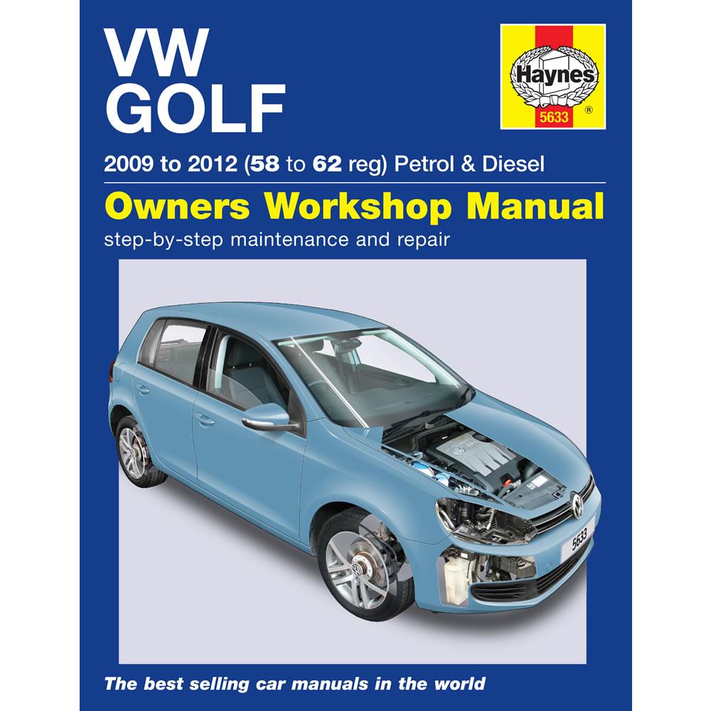 haynes manual vw golf mk6 1 4 petrol 1 6 2 0 diesel 58 to 62 reg rh ebay com VW Golf MK4 VW Golf MK4