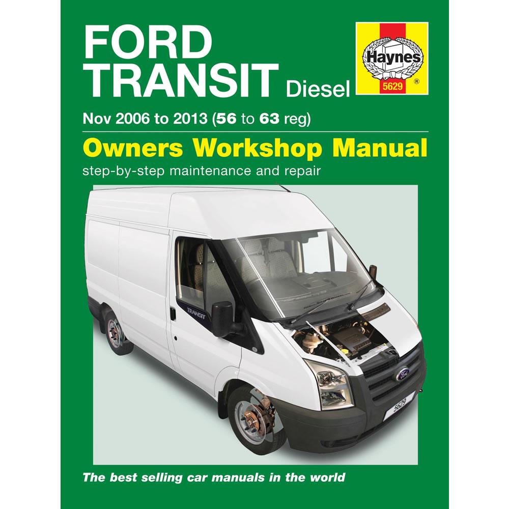 Ford Transit Haynes Manual 2006-13 2.2 2.4 TDCi Diesel Workshop Manual