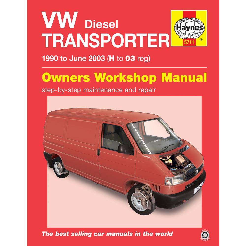 5711 vw transporter t4 1 9 2 4 2 5 diesel 1990 2003 haynes workshop rh ebay co uk vw transporter t5 workshop manual pdf vw transporter t5 repair manual download