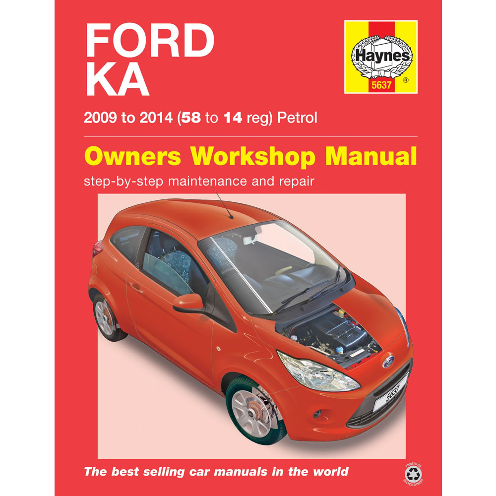 Ford Ka   To  Haynes Workshop Manual Ebay Rh Ebay Co Uk Ford Fiesta Car Manual  Ford Fiesta Car Manual