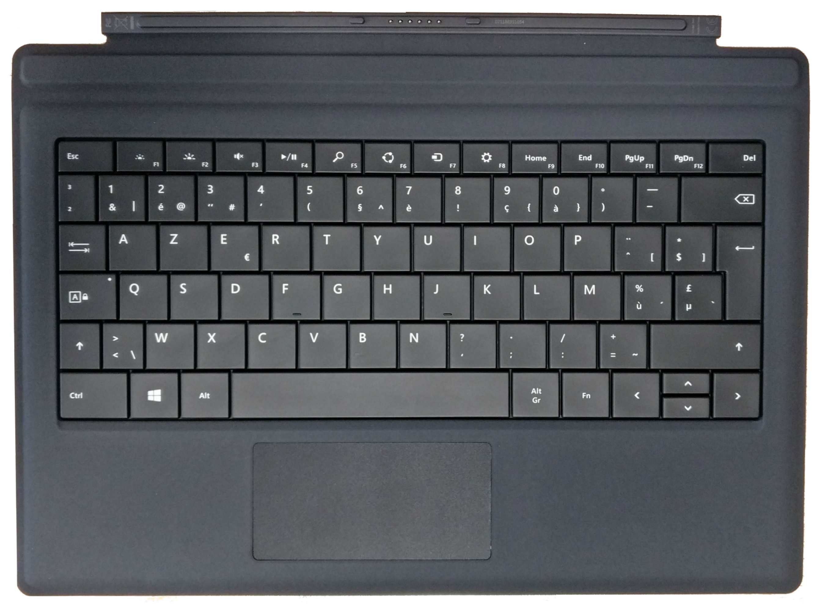 microsoft type cover black belgian azerty keyboard for. Black Bedroom Furniture Sets. Home Design Ideas