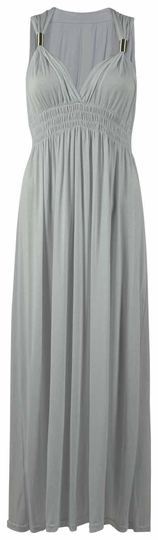 NEW-LADIES-LONG-STRETCH-WOMENS-MAXI-DRESS-SIZE-8-16
