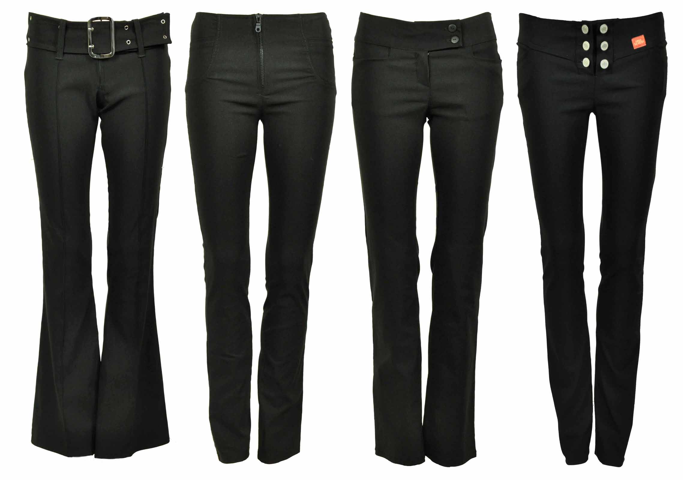 how to cut female pant trouser