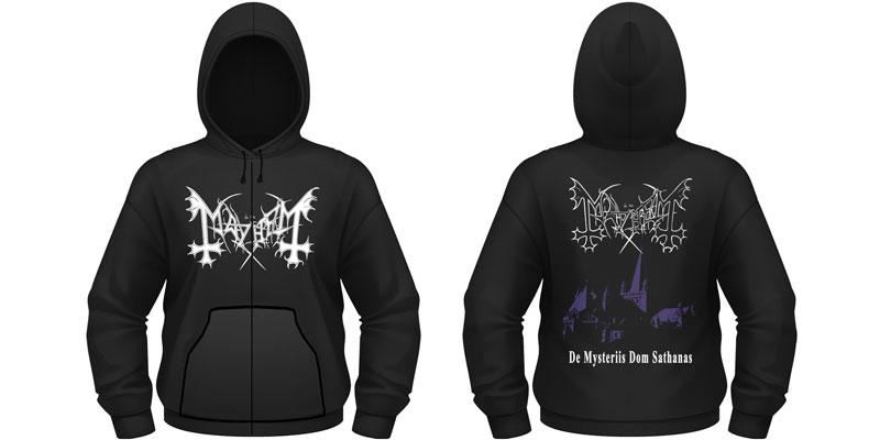 Official Dom De Mayhem Hooded Sweatshirt New Mysteriis Sathanas qnUHxHPS