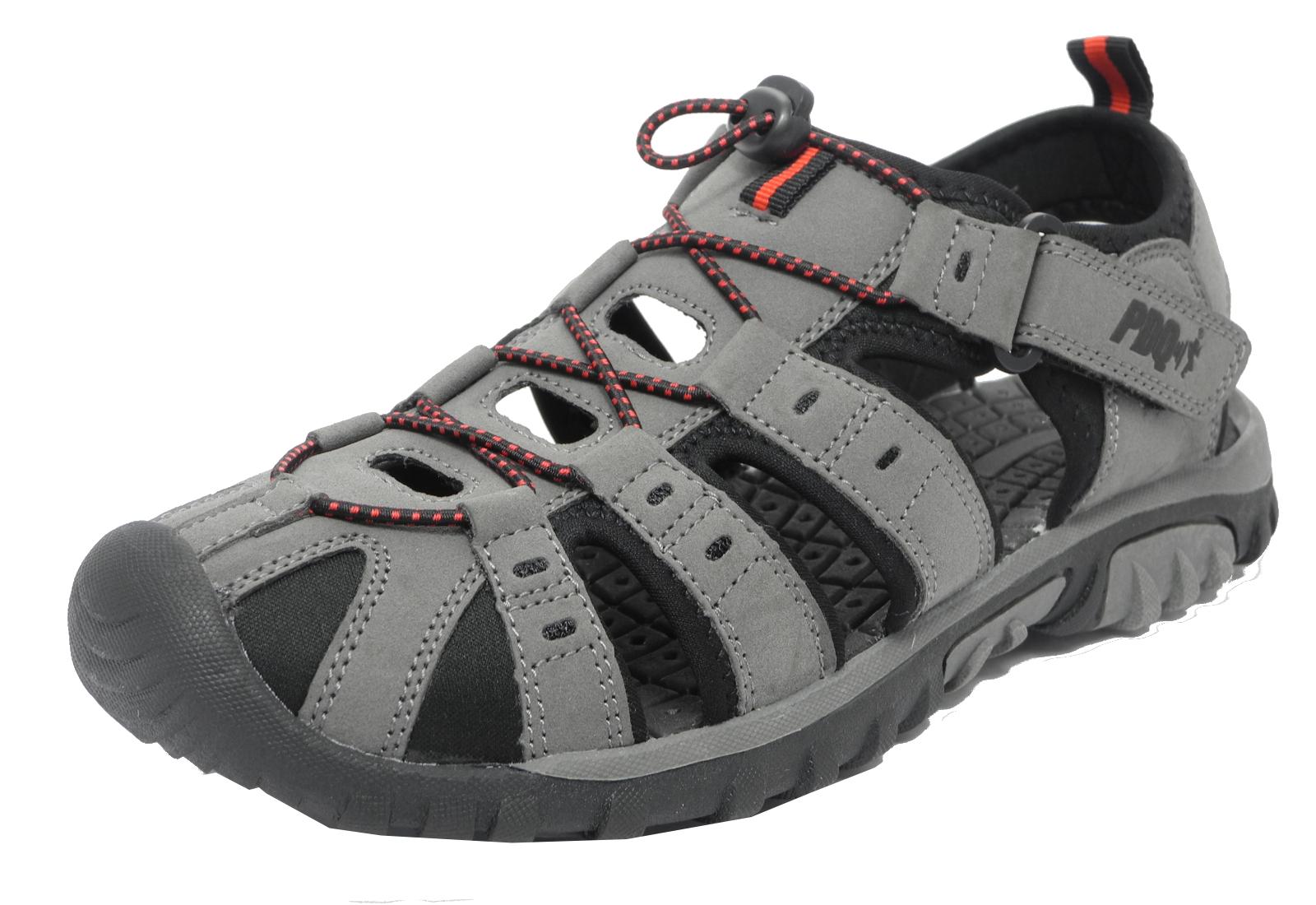 Mens Boys PDQ Sports Hiking Closed Toe Trail Sandals 2 3 4 5 6 7 8 9 10 11 12