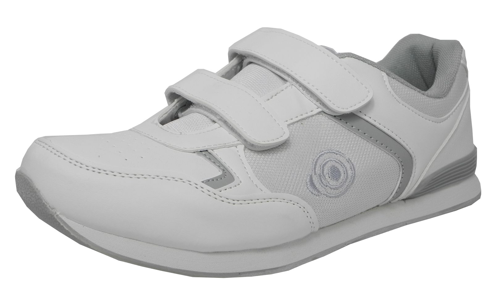 Mens Flat Sole Lightweight Bowls Shoes Bowling Trainers White Size 6 7 8 9 10 11