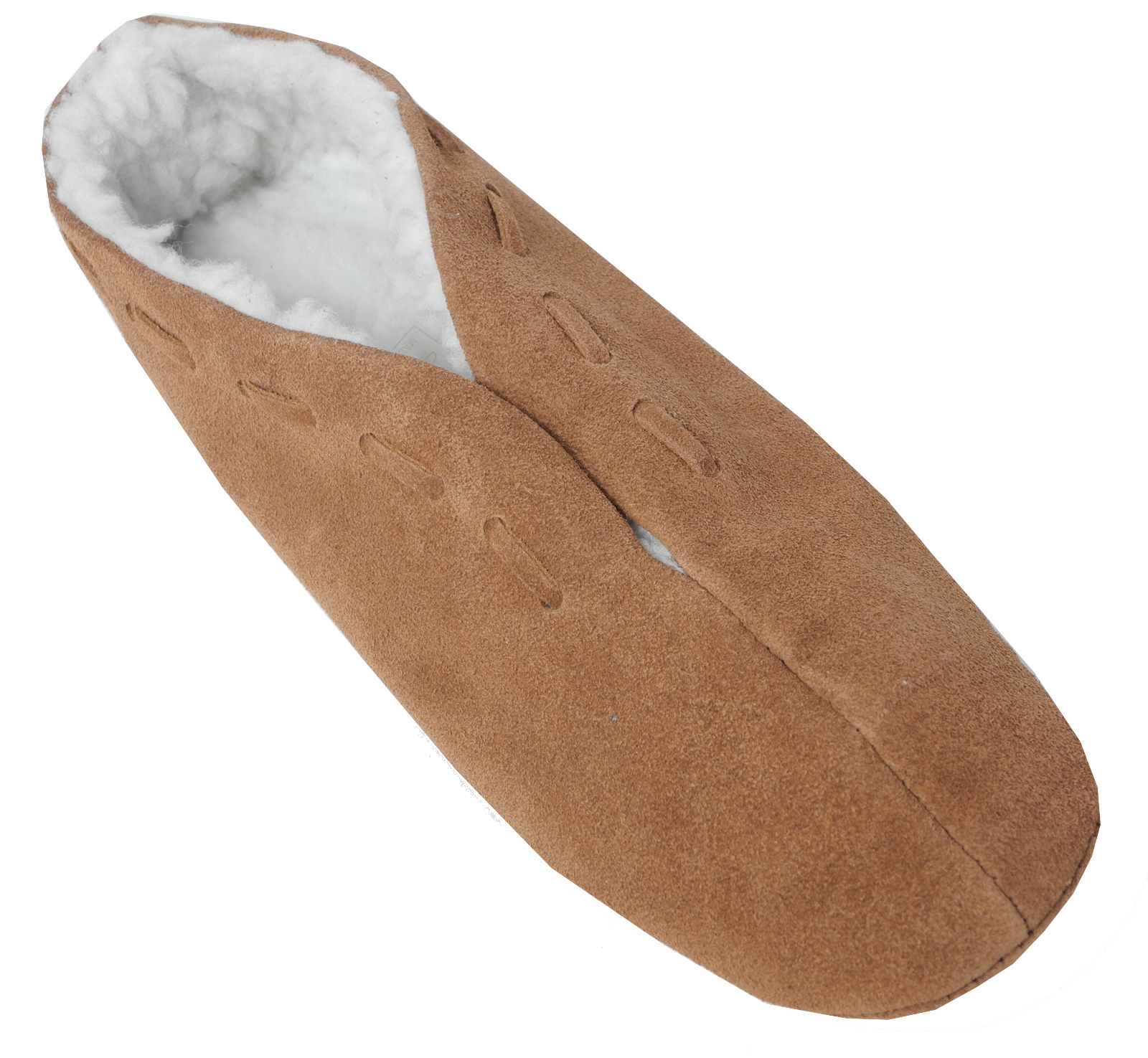 Chicos Damas De Gamuza De Cuero de imitación borreguillo Forrado De Zapatos Español Zapatillas Talle 3-9