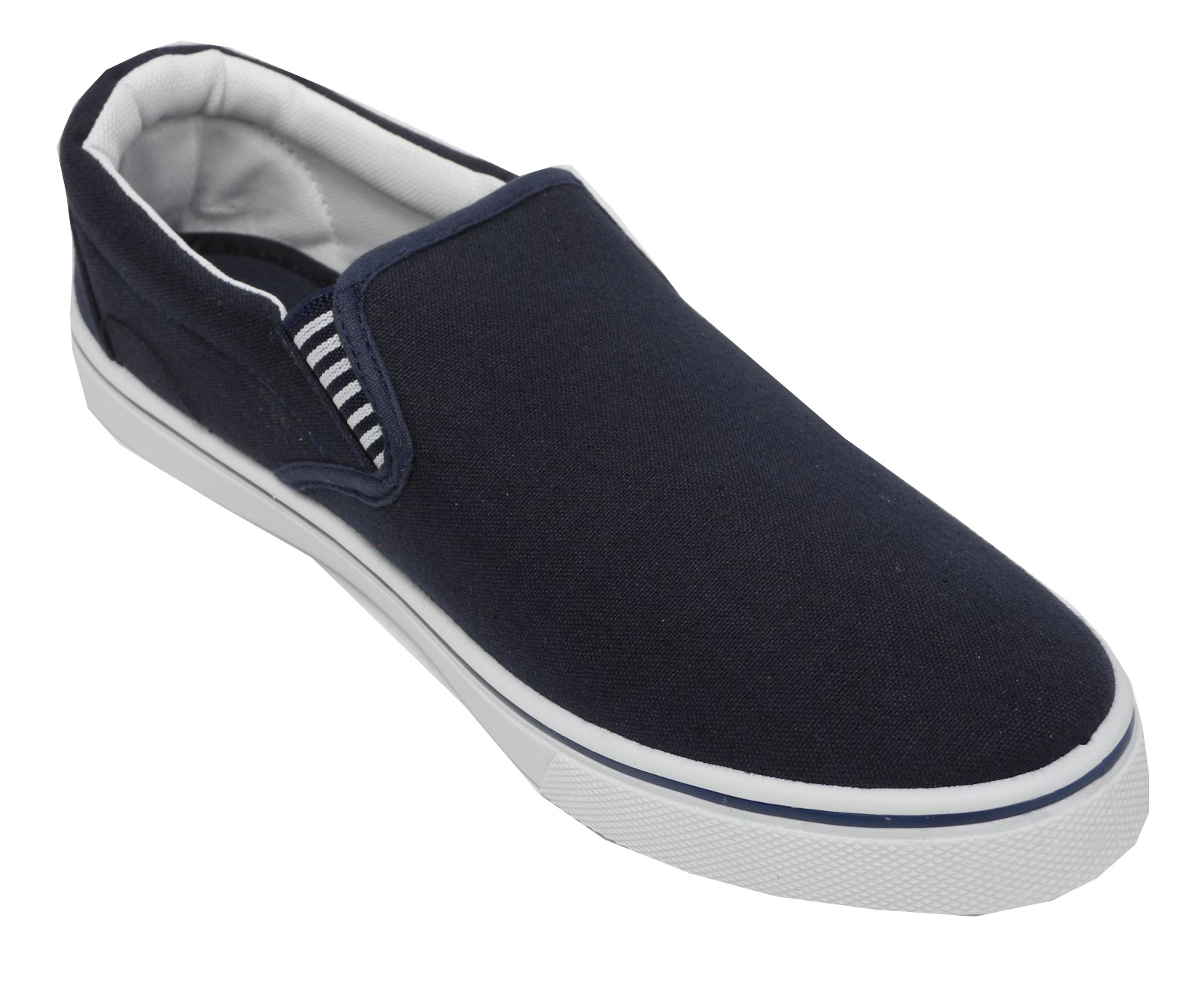Mens Canvas Deck Shoes
