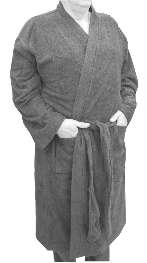 Mens Kingsize Big Size Terry Towelling Cotton Dressing Gown Bath ... dc119f351