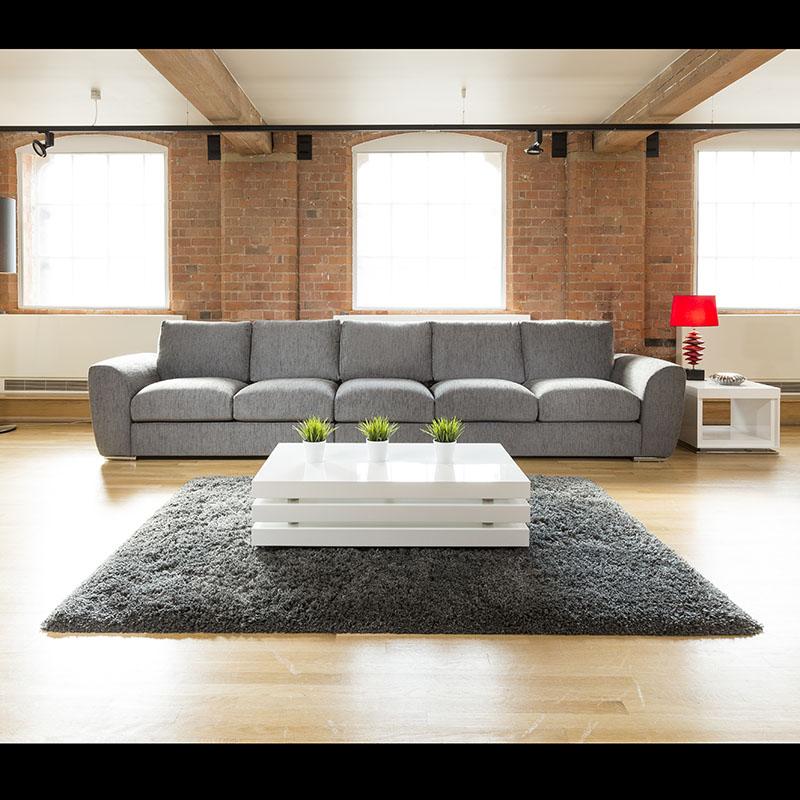 c539e736ea518 Sentinel Modern Large Round Black Oak Dining Table +8 Black Z Shape Chairs  6736