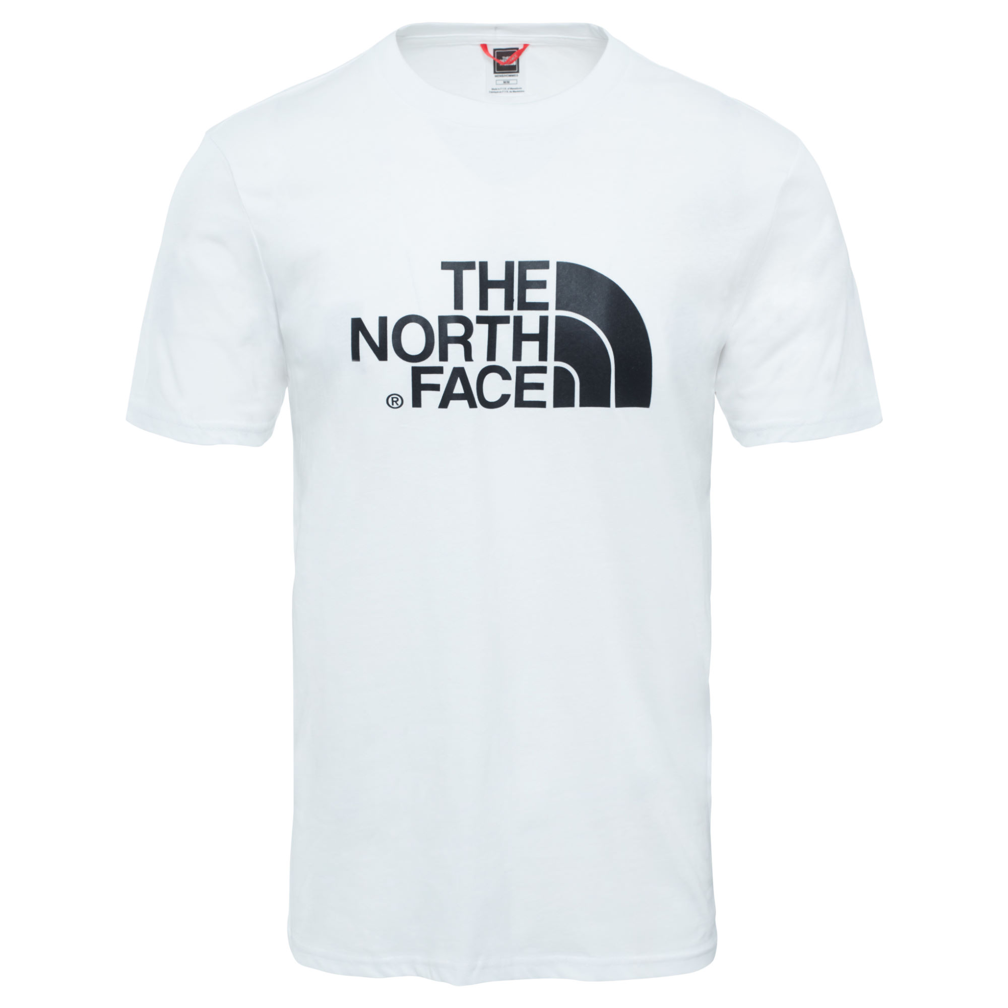 Mens The North Face Easy Tee Shirt White S/M/L