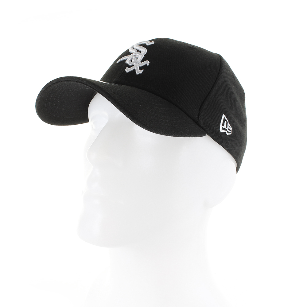 f58106b6 Details about Mens New Era Baseball 9Forty Adjustable Cap Chicargo White Sox  Black