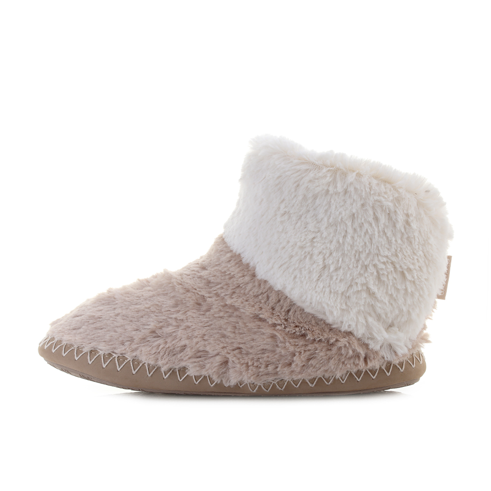 bedroom slippers womens womens bedroom athletics gingerbread faux fur 10670