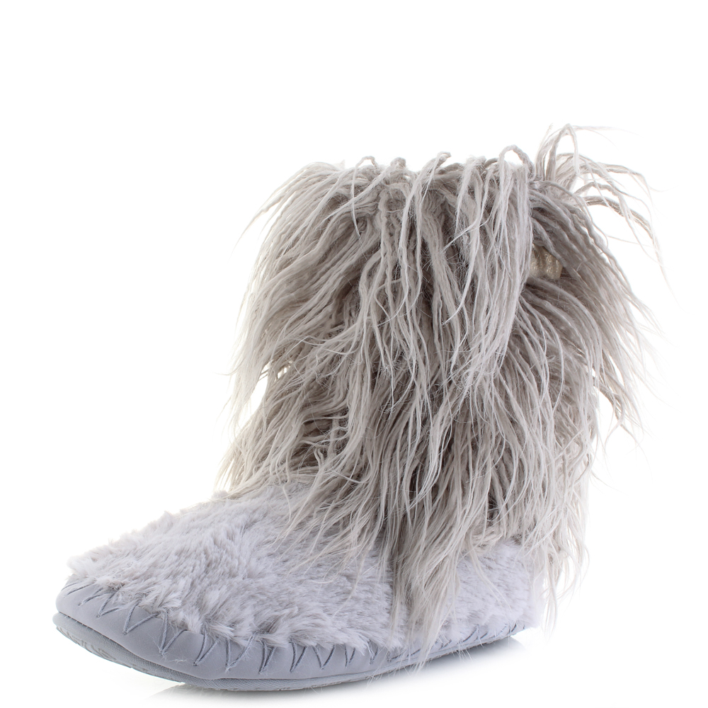 boots colour slip itm on fur form high shoes completely offers faux slipper womens athletics ba thew this knee fix bedroom grace scheme slippers gingerbread look size with that great a lined