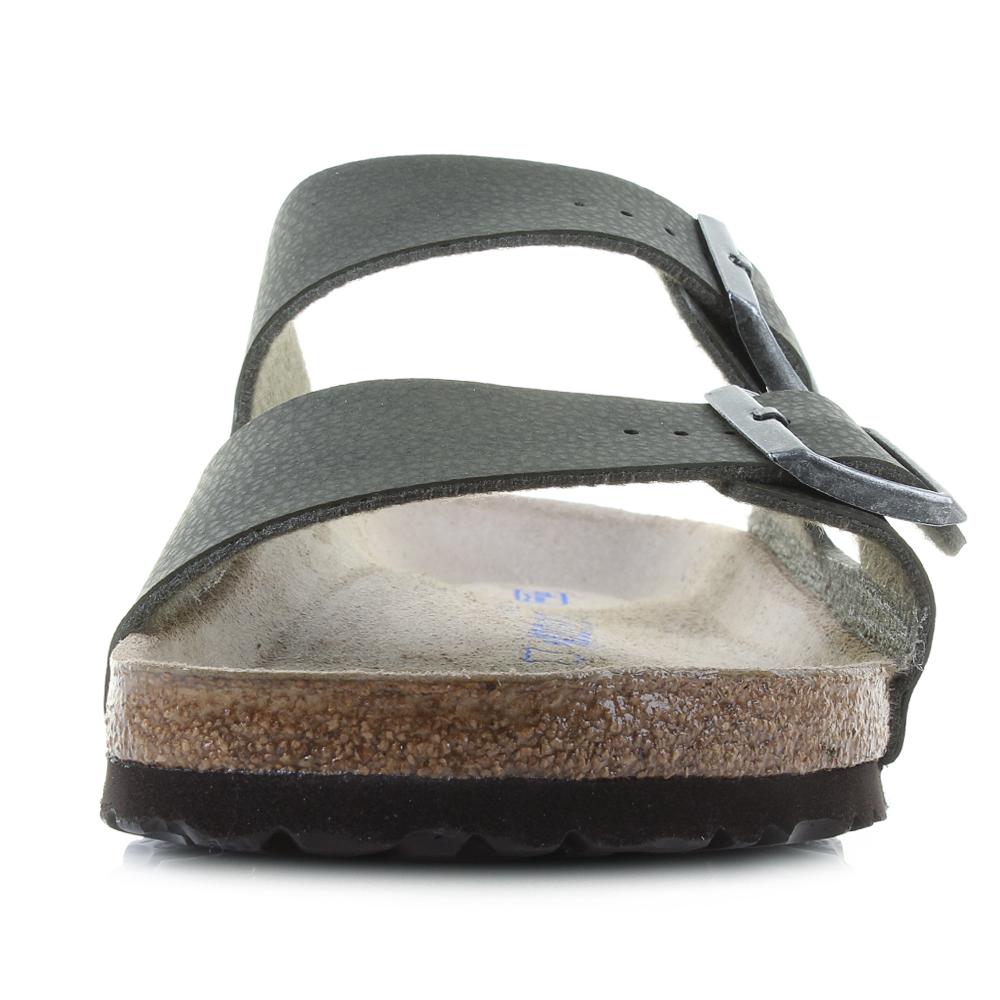 Mens-Birkenstock-Arizona-Soft-Footbed-Desert-Soil-Green-Regular-Sandals-Shu-Size