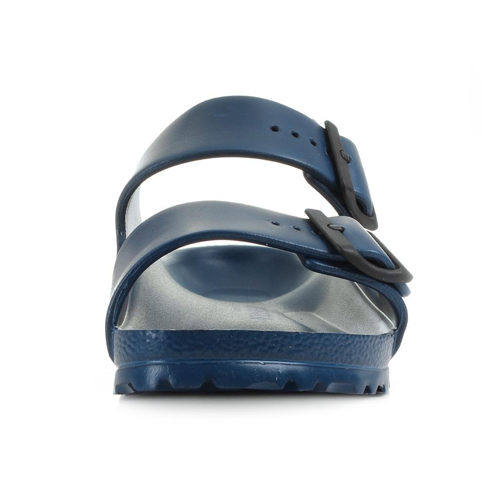 13568652c1f Womens Birkenstock Arizona EVA Navy Narrow Fit Twin Strap Sandals Size
