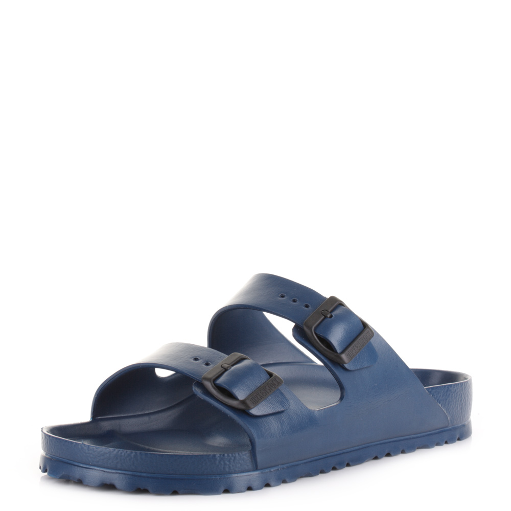 4d78979e36d Mens Birkenstock Arizona EVA Navy Regular Fit Twin Strap Sandals Shu Size