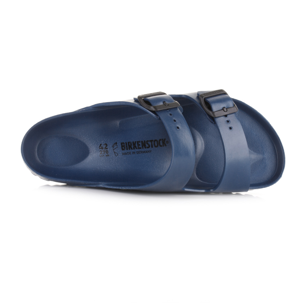 8f980059c67 Mens Birkenstock Arizona EVA Navy Regular Fit Twin Strap Sandals Shu ...