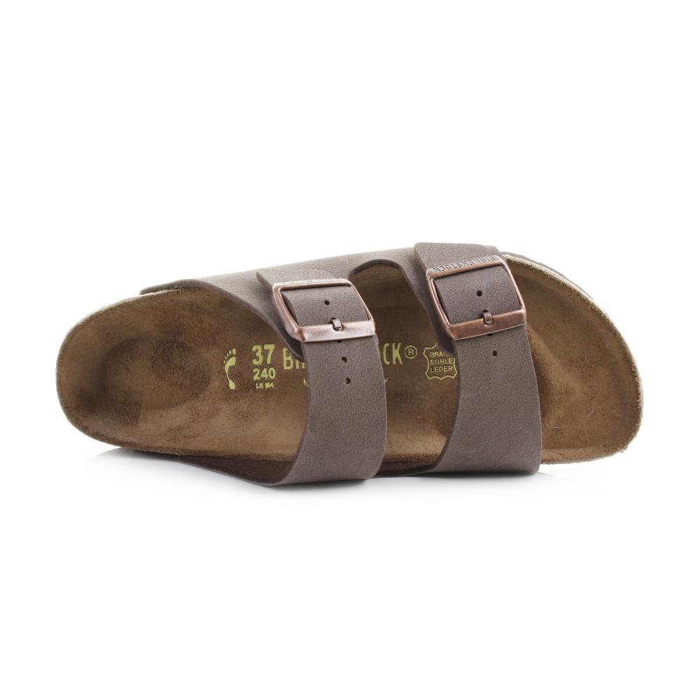 cdb7dfc6d3a7 Mens Birkenstock Arizona Mocca Regular Fit Twin Strap Sandals Shu Size