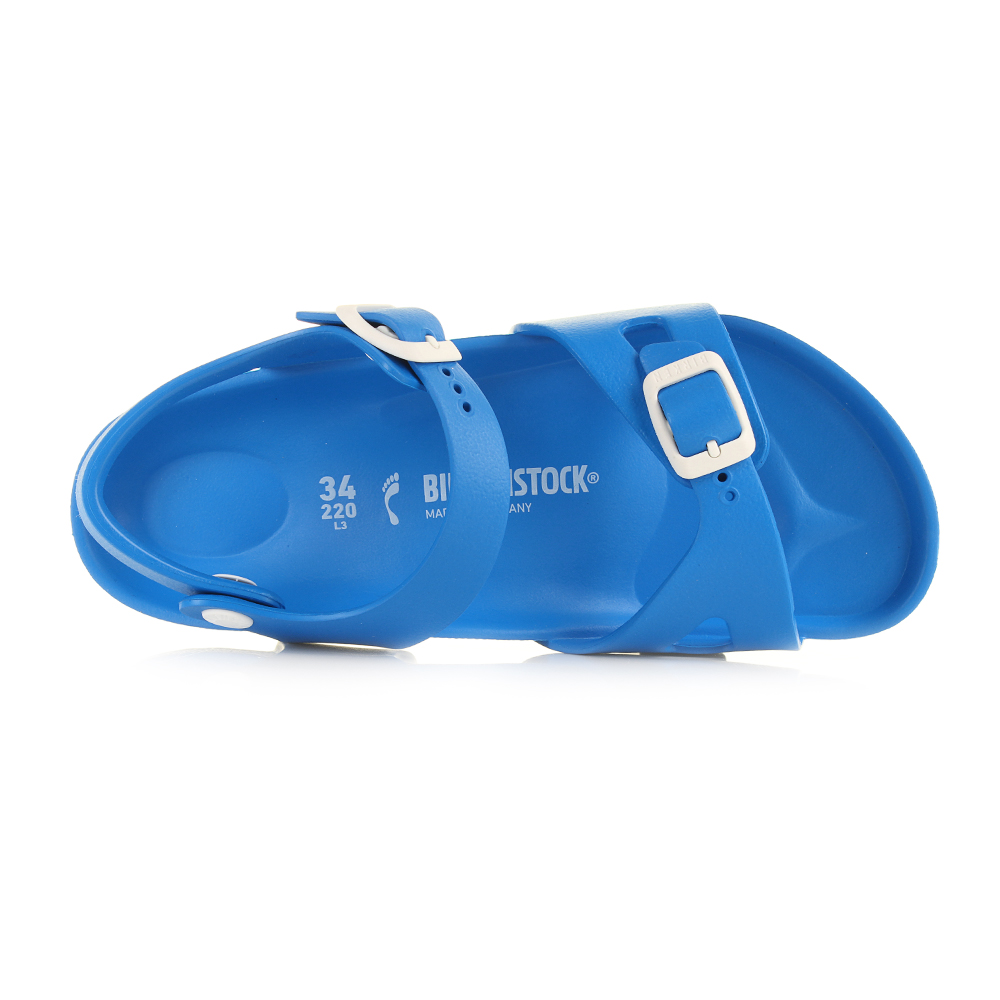 The Birkenstock Rio Sandal has been redesigned with this new full EVA  construction that offers a lightweight b1f4f586b79