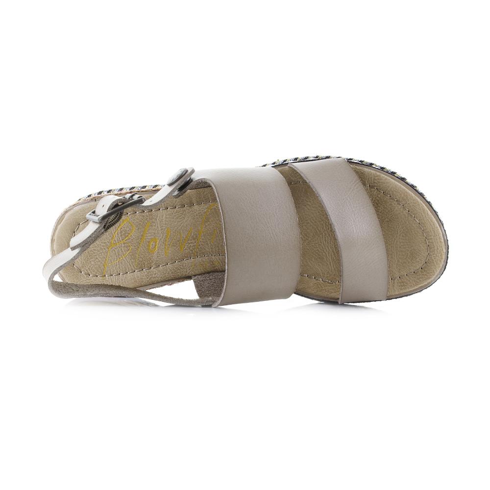 c22cb3c50f1 The Lola-B is a wedge sandal with a patterned platform that features a faux  stacked platform sole