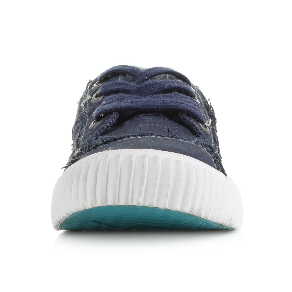 9a268d5590 Womens Blowfish Cablee Navy Casual Plimsolls Trainers Shu Size | eBay