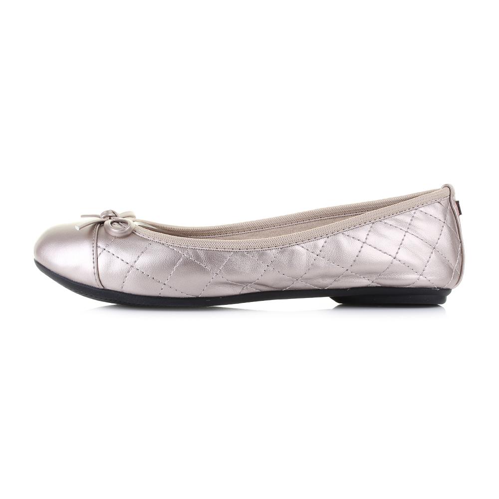 b91f3eae1bbf Womens Butterfly Twists Olivia Rose Gold Flat Ballet Pumps Sz Size ...