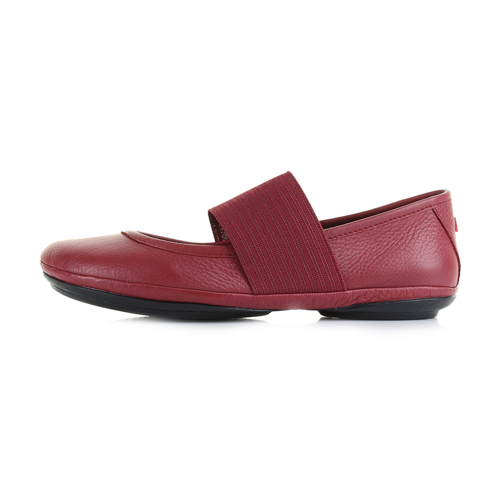 Womens-Camper-Right-Nina-Sella-Happiness-Leather-Red-