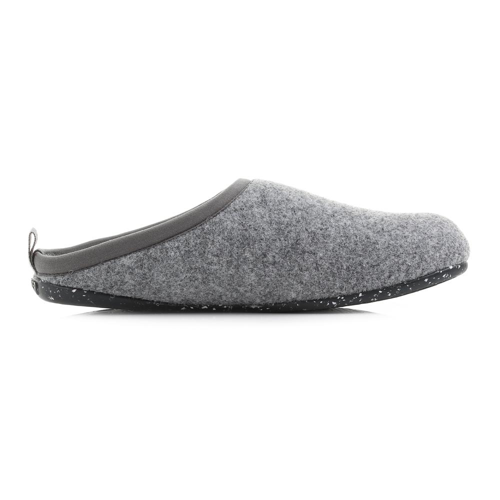 12afd67a649 Womens Camper 20889-061 Wabi Tweed Grey Slide on Slippers Sz Size