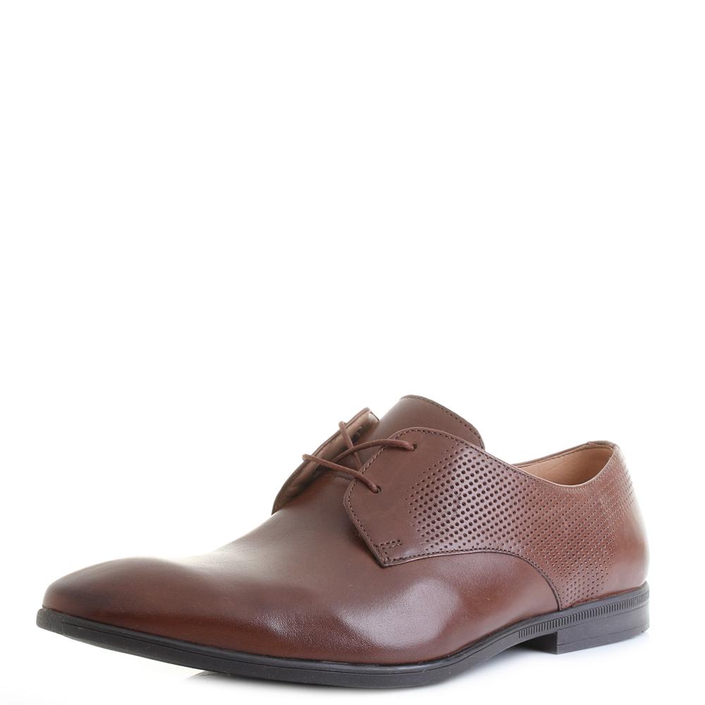 Detalles acerca de Para Hombre Clarks Bampton Walk British Tan Marrón Cuero Con Cordones G ajuste Zapatos Shu Tamaño mostrar título original