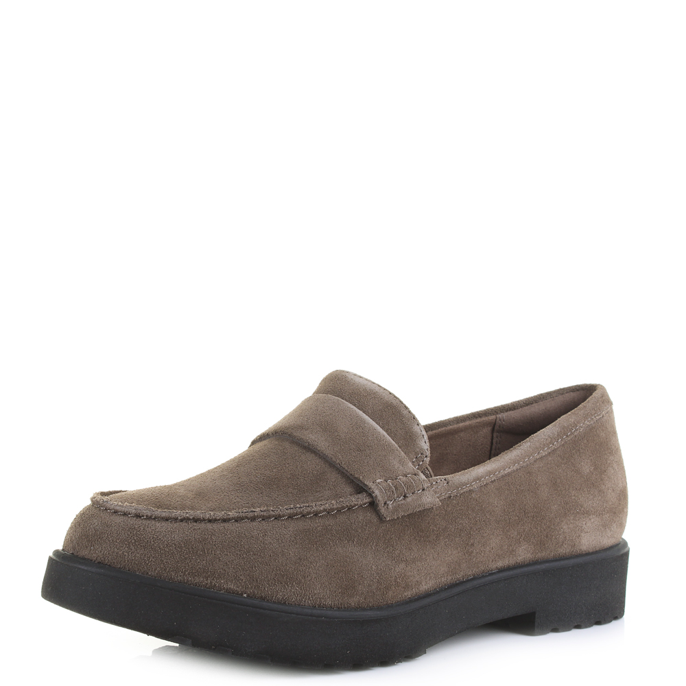 womens clarks loafers