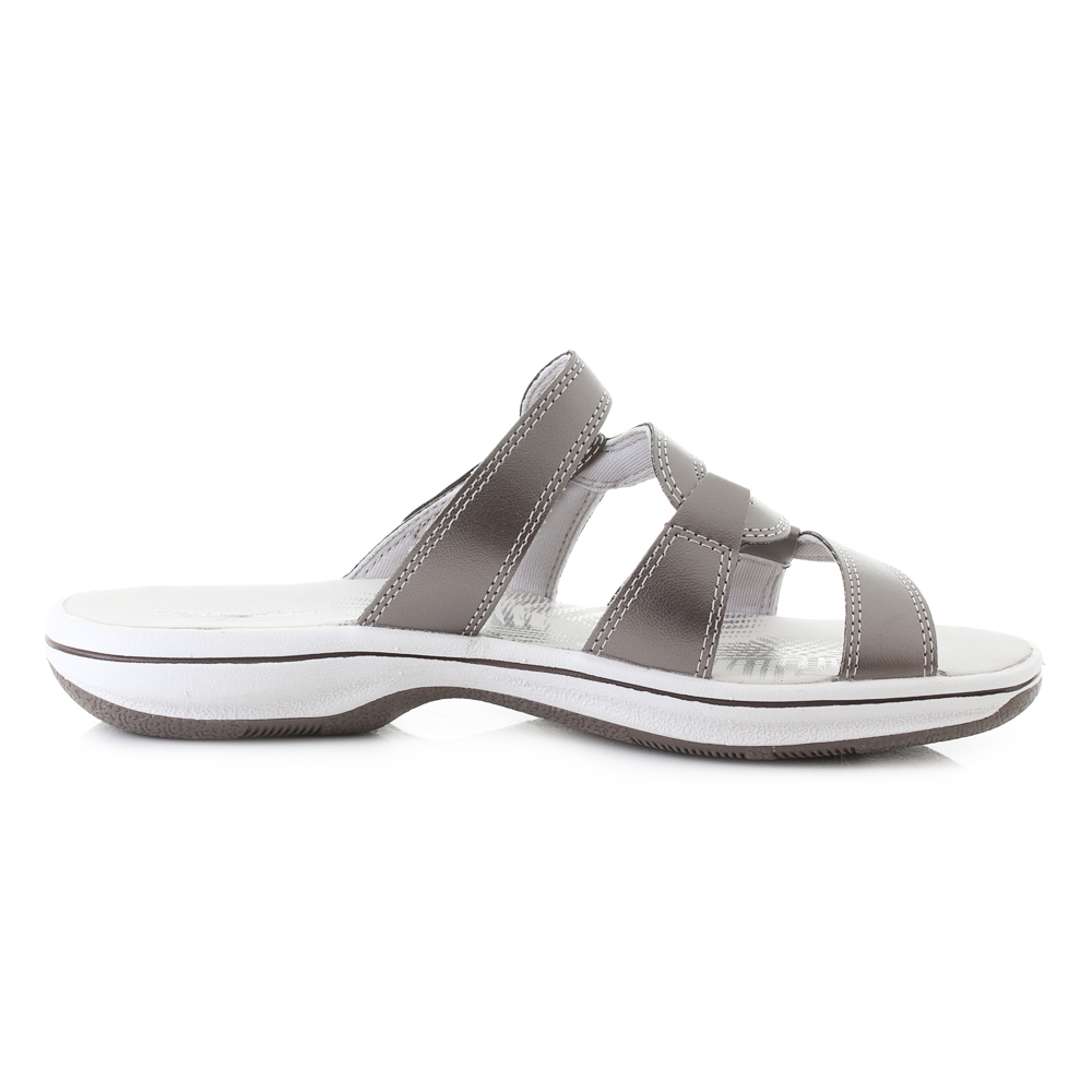 1e8e0afb7 Ladies Clarks Mules Brinkley Lonna UK 6 Pewter. About this product. Picture  1 of 4  Picture 2 of 4 ...