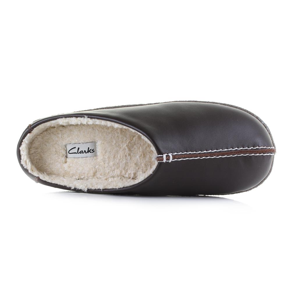 Confortable Style Clarks Relaxed Marron Taille Pantoufles En En Marron Mens Cuir Cuir UcTaWHU