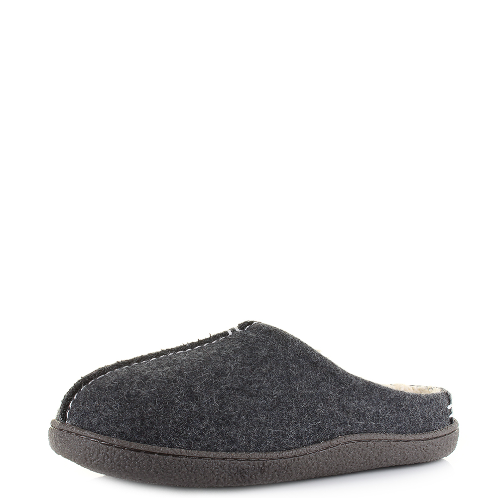 Men's Clarks Warm Slip On Slippers Style - Relaxed Style