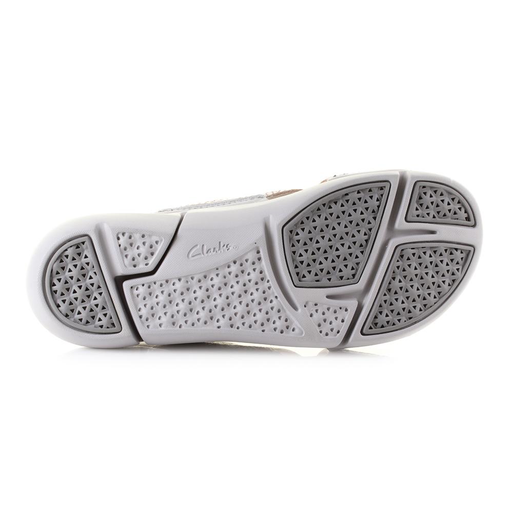 Womens Womens Womens Clarks Tri Chloe Metallic Lightweight Credver Sandals  D Fit. Shu Size b3ab00