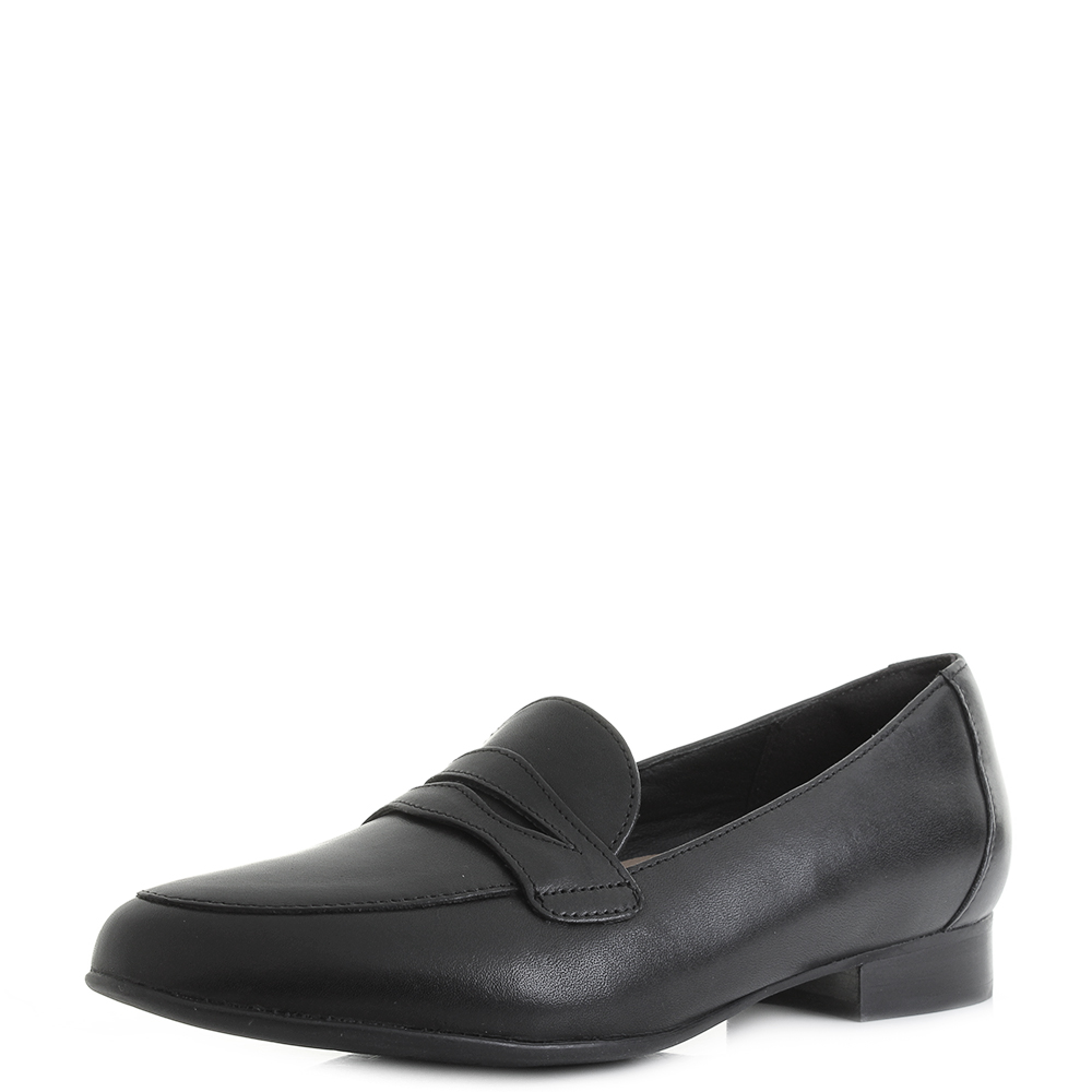 Smart Loafers D Black Un Blush Clarks Fit Womens Leather Go Shoes fgwCgTq