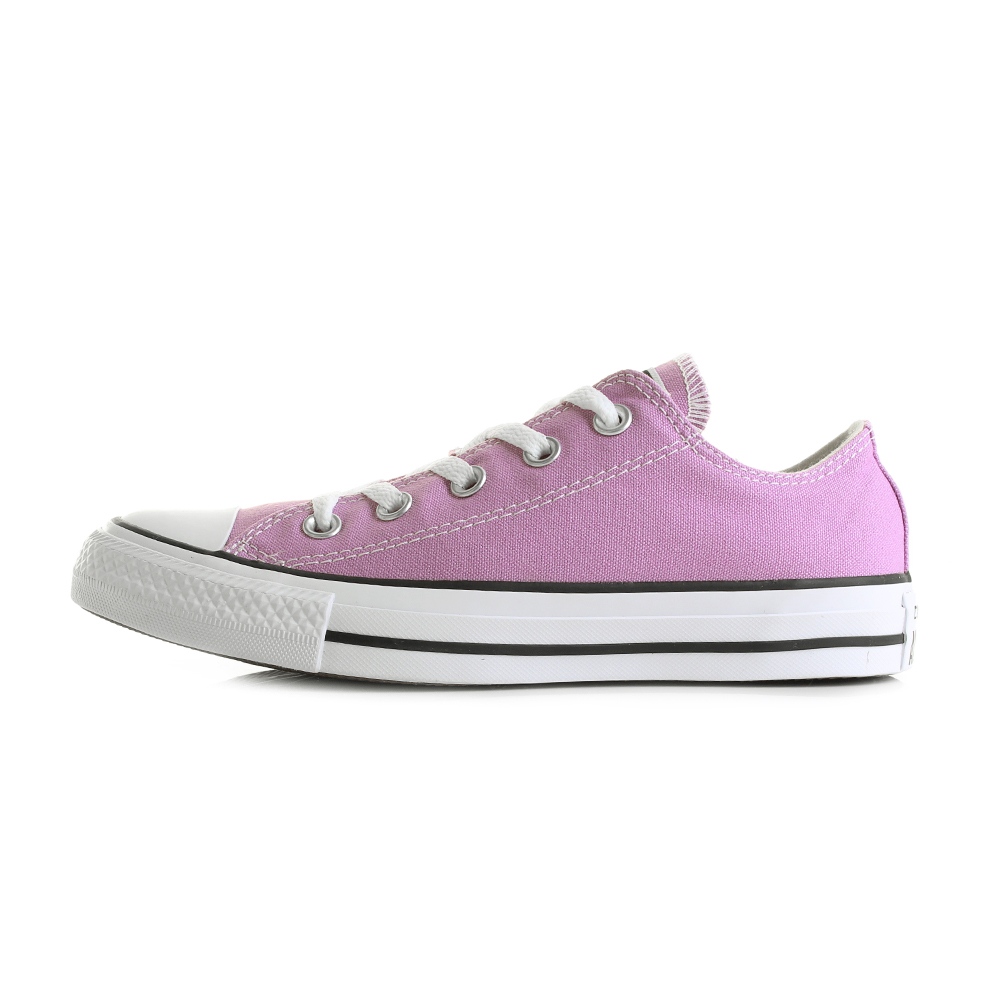Womens Converse Con CTAS Ox Fuchsia Glow Low Top Trainers Size