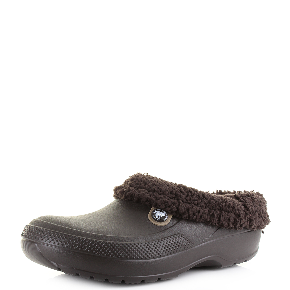 bef1506554ce9 Details about Mens Crocs Classic Blitzen 3 Clog Espresso Brown Comfort  Clogs UK Size