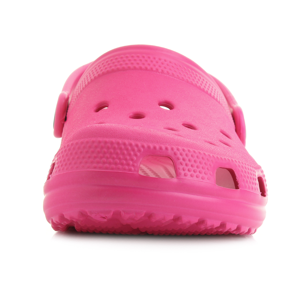 478997fbbc0c Crocs Classic Clog Girl s Candy Pink Slip on Mule Style Backstrap Sandals  UK 9 Infant. About this product. Picture 1 of 7  Picture 2 of 7  Picture 3  of 7 ...
