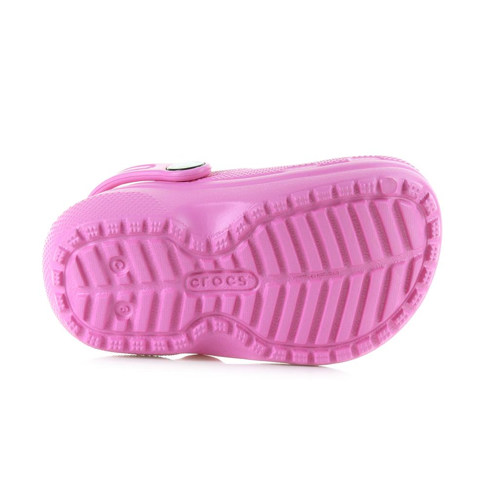 b07a1c5040d1e0 Kids Girls Crocs Classic Lined Clog Party Pink Candy Faux Fur Crocs ...