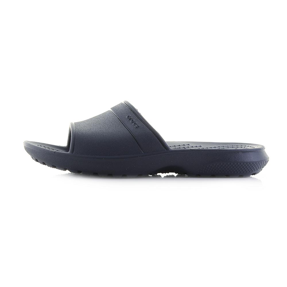 1326f5b986b1 Kids Crocs Classic Slide K Navy Blue Lightweight Slide Sandals Shu Size
