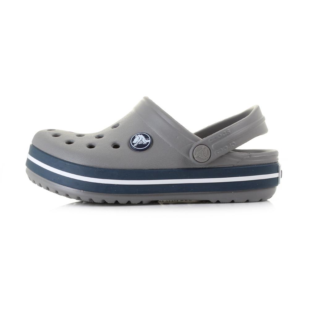 Crocs Shoes  Crocs Crocband Boys Sandals SmokeNavy
